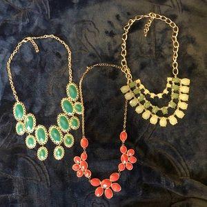 Ladies Statement Necklace Set